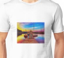 """Gone Fishing With Pap"" Unisex T-Shirt"