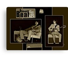 "Beat of the 60s with ""Jimmy Beat"" Canvas Print"