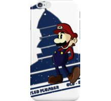 Old-Styled Mario iPhone Case/Skin