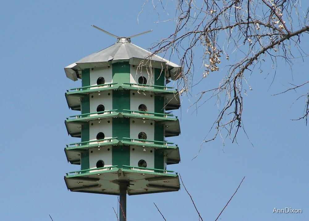 High Rise Birdhouse by AnnDixon