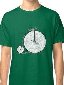 Bicycle Vintage High Wheeler Victorian Penny Farthing Cycle Biking Classic T-Shirt