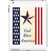 """God Bless America"" iPad Case/Skin"