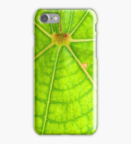 Green Leaf iPhone Case/Skin