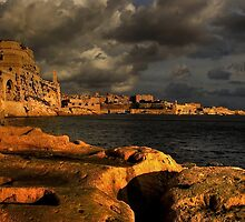 """MALTA SITES"" GRAND HARBOUR - VITTORIOSA-VALLETTA by RayFarrugia"