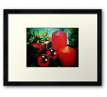 Christmas won't be the same without you! Framed Print
