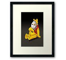 Psycho Pooh !! Framed Print