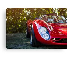Vintage Sports Car Canvas Print