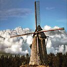windmill by tapiona