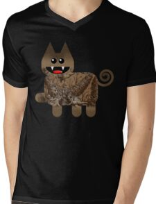 KITTEN 5/6 Mens V-Neck T-Shirt