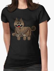 KITTEN 5/6 Womens Fitted T-Shirt