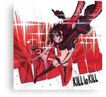 Kill le Kill Canvas Print