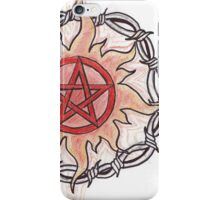 Pentacle Flame iPhone Case iPhone Case/Skin
