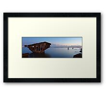 This is the End......My Friend Framed Print