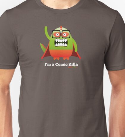 I'm a Comic Zilla - Dark Unisex T-Shirt