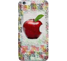 Real Apple iPhone Case/Skin