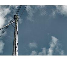 Telegraph pole Photographic Print