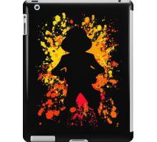 one piece luffy paint splatter anime manga shirt iPad Case/Skin