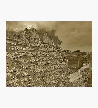 Farm wall Photographic Print