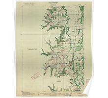 USGS Topo Map Oregon Monroe 282723 1922 62500 Poster