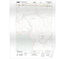 USGS Topo Map California Sagebrush Butte 20120314 TM Poster