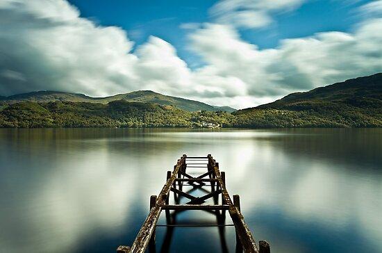 Loch Lomond Jetty by Brian Kerr