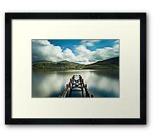 Loch Lomond Jetty Framed Print
