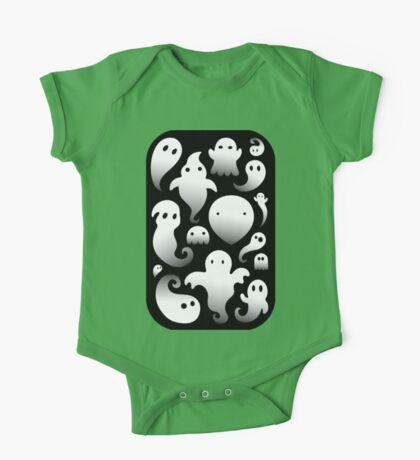 Spooky Ghosts One Piece - Short Sleeve
