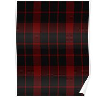00851 West Coast WM 9275 1333-2 Tartan Poster