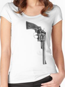 Smith & Wesson .44 Magnum Women's Fitted Scoop T-Shirt