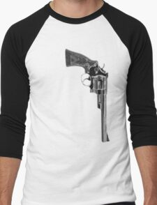 Smith & Wesson .44 Magnum Men's Baseball ¾ T-Shirt