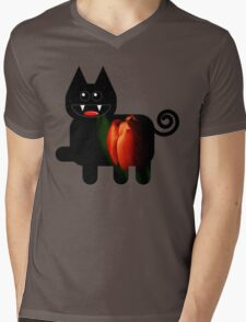 KITTEN 4/6 Mens V-Neck T-Shirt