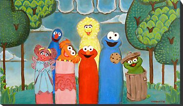 Sesame Street My Way 1 by Jewel  Charsley