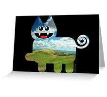 KITTEN 3/6 Greeting Card