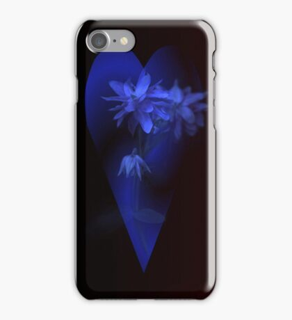 "iPhone Case ""Blue Petals"" iPhone Case/Skin"