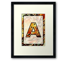 Fractal – Alphabet – A is for Abstract Framed Print
