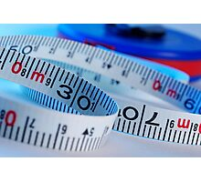 Tape measure Photographic Print