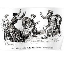Achille Sirouy Mark Twain Les Aventures de Huck Huckleberry Finn illustration p223 Poster