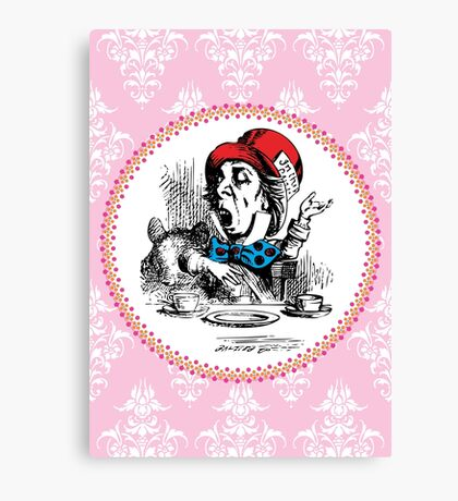 Alice in Wonderland | The Mad Hatter Canvas Print