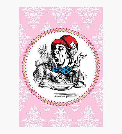 Alice in Wonderland | The Mad Hatter Photographic Print