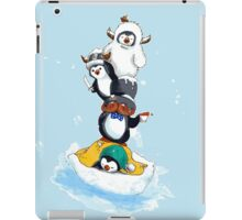 The Almighty Tower Of Penguins iPad Case/Skin