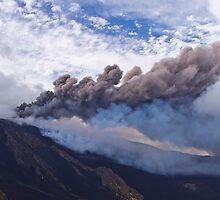 16th paroxysm - Mt. Etna  by Andrea Rapisarda