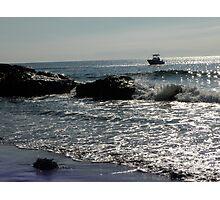 Fishing Offshore Photographic Print