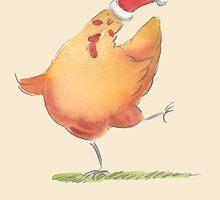 Happy Christmas Chicken by Karen Erasmus