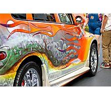 PT CRUISER GRAVE YARD CAR Photographic Print