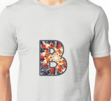 Fractal – Alphabet – B is for Beauty Unisex T-Shirt