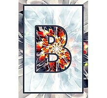 Fractal – Alphabet – B is for Beauty Photographic Print
