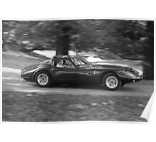 Marcos 1800 GT sports car Poster