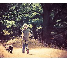 Kitty and Casper Photographic Print