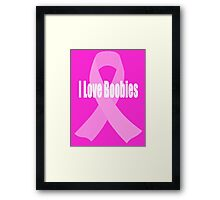 Breast Cancer Awareness - (Designs4You) Framed Print