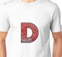 Fractal – Alphabet – D is for Digital Unisex T-Shirt